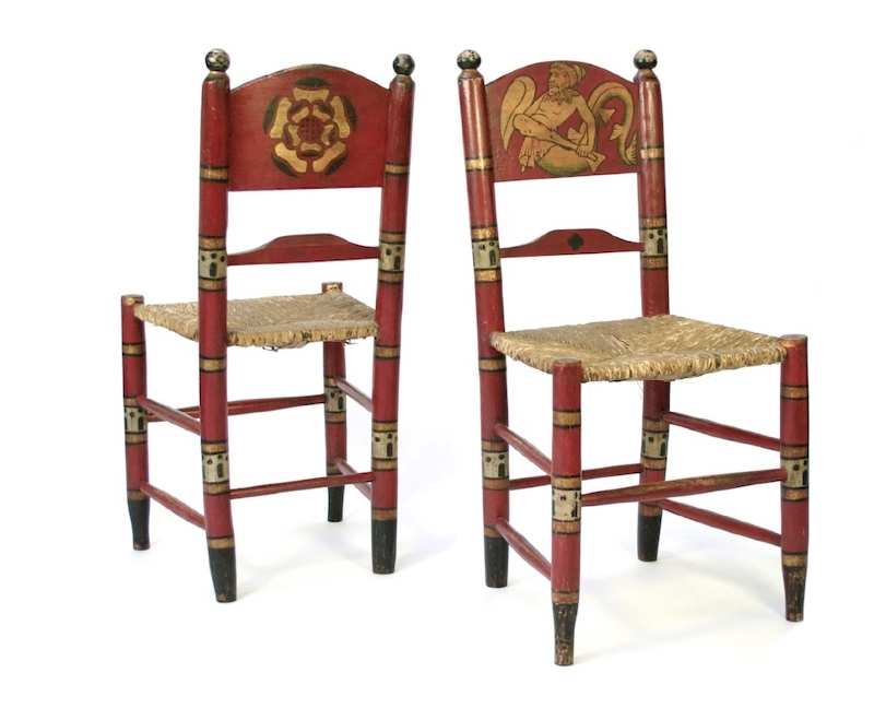 William Burges Sea Monster Chairs