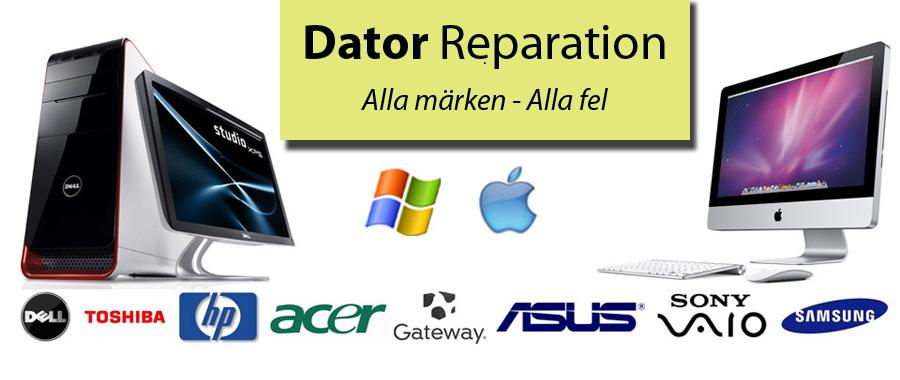 Dator reparation Göteborg