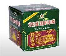 The verde Gunpowder 250g