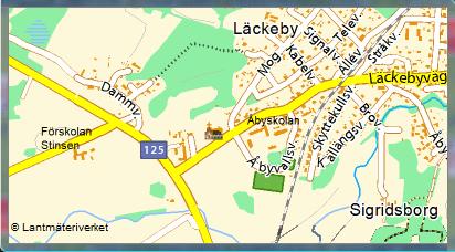 Karta Läckeby