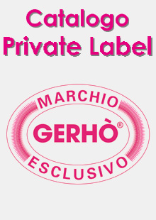 Gerhò Magazine - Catalogo Private Label