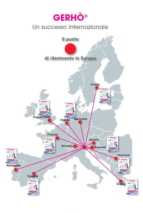 Gerhò - punto di riferimento in Europa