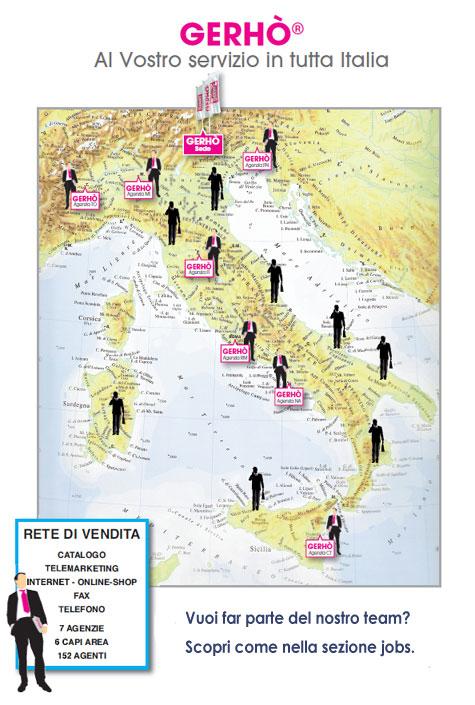 Gerhò al vostro servizio in tutta Italia