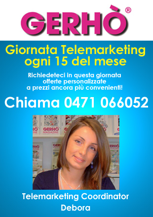 Gerhò - Giornata Telemarketing