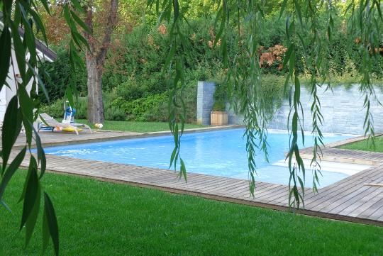 Dettagli esclusivi delle piscine a sfioro zavatti for Piscina con cascata