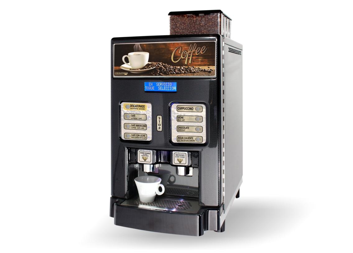 Arizona G - Dispensador café expreso con leche y chocolate soluble