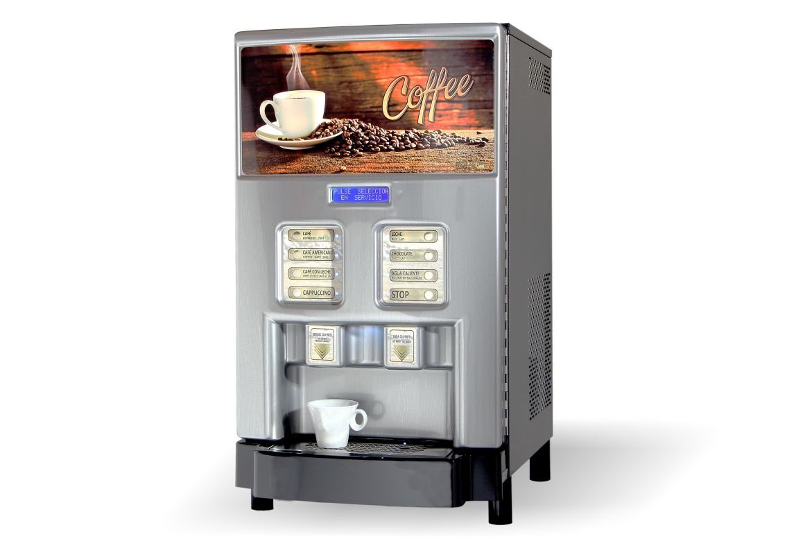 Simplex3 V3.0 Dispensador bebidas solubles café leche y chocolate