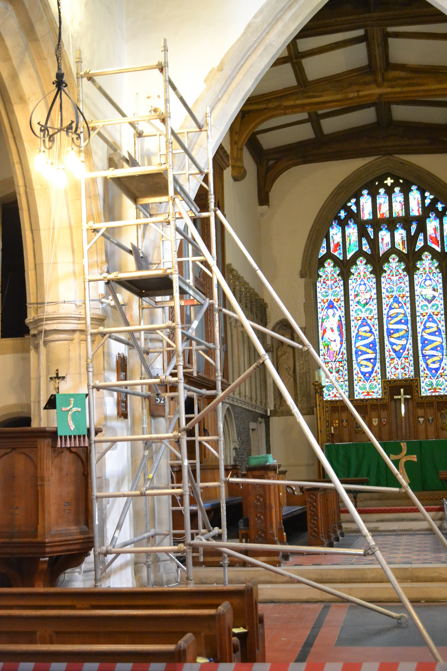 church av install work