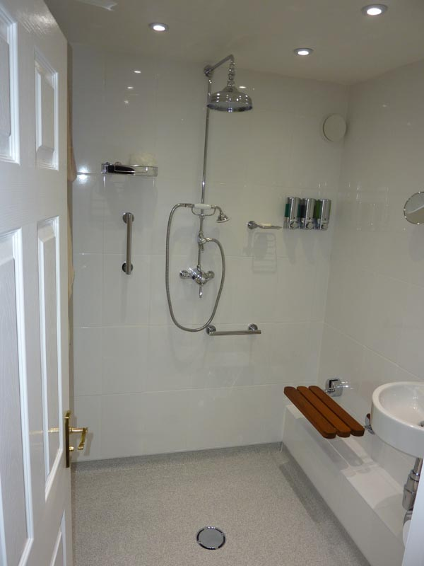 Welome to ct flooring the flooring specialists for Shower room flooring ideas