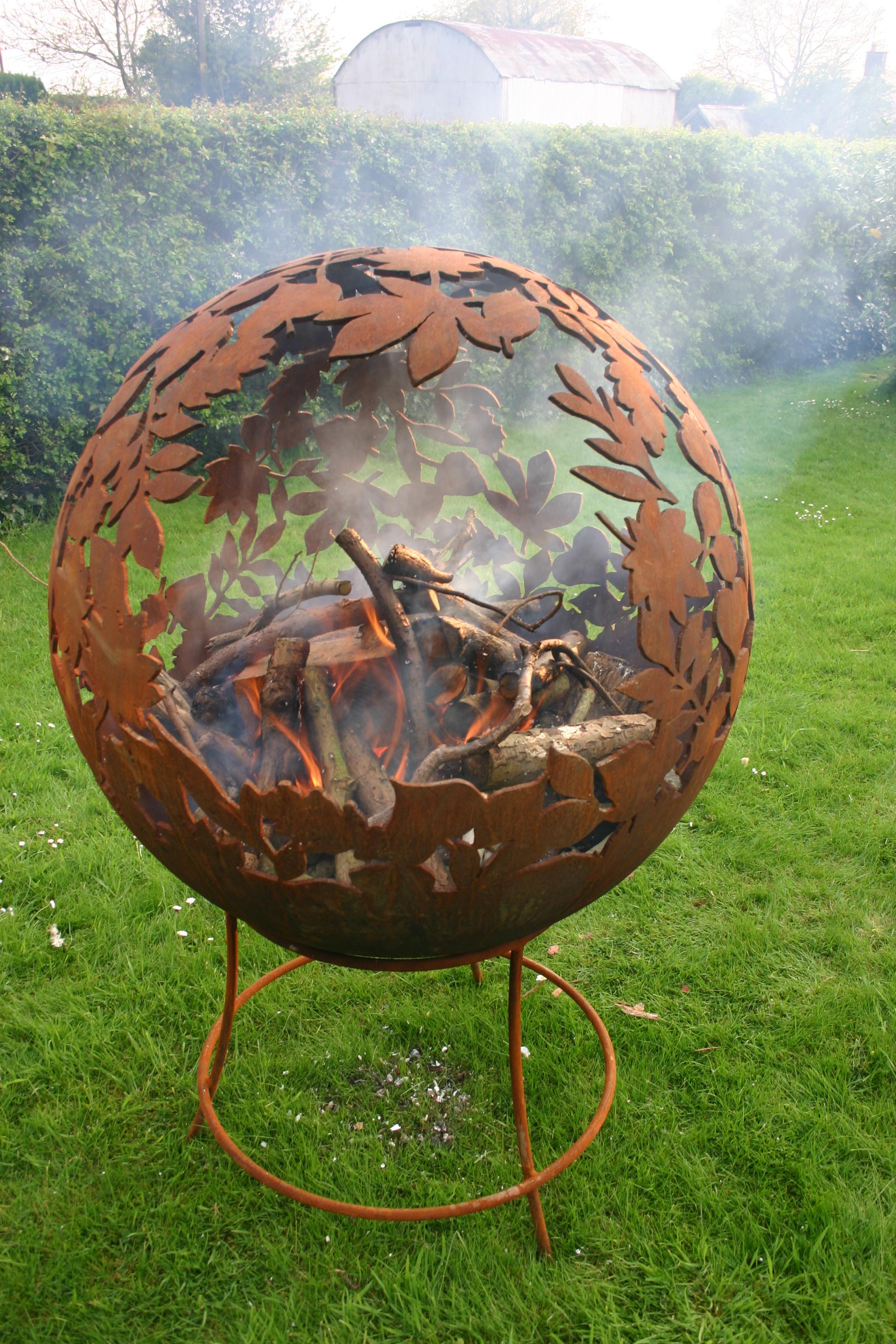fire pit globe designs. Black Bedroom Furniture Sets. Home Design Ideas