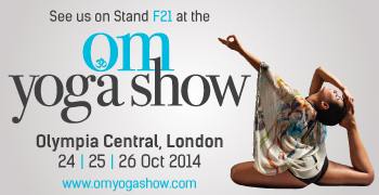 Yoga Mama will exhibit at Stand F21 at the OM Yoga Show 2014 at Olympia Central, London from 24-26 October
