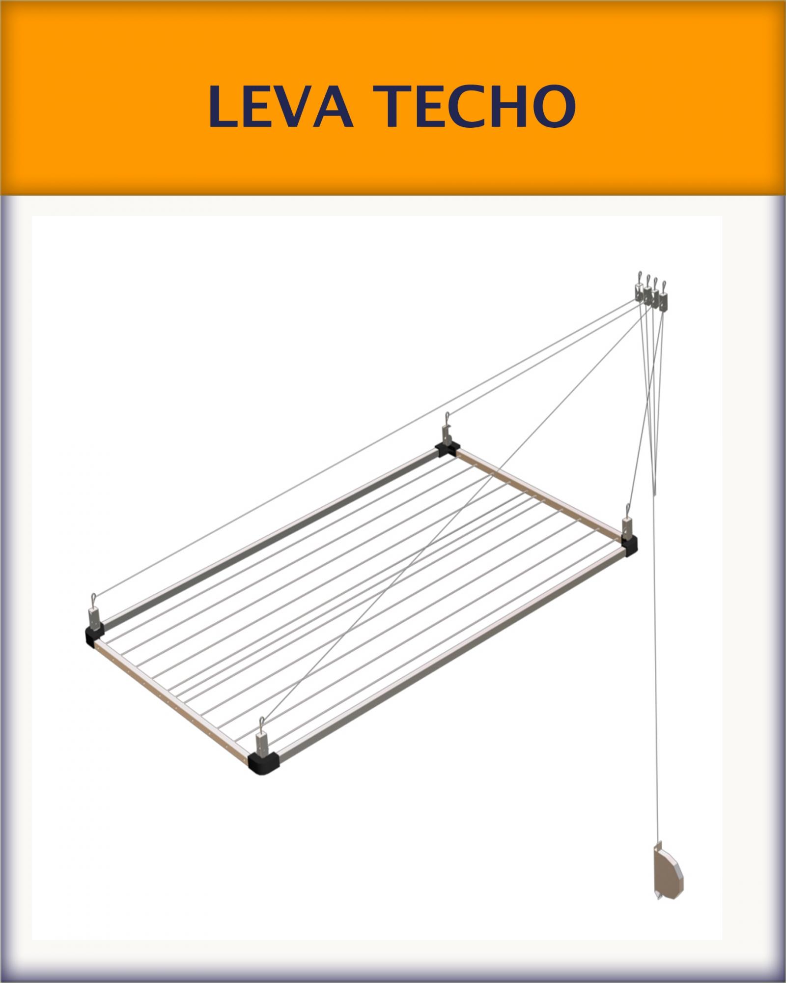 tendederos de techo superleva, leva reforzado, tendedero de techo-pared