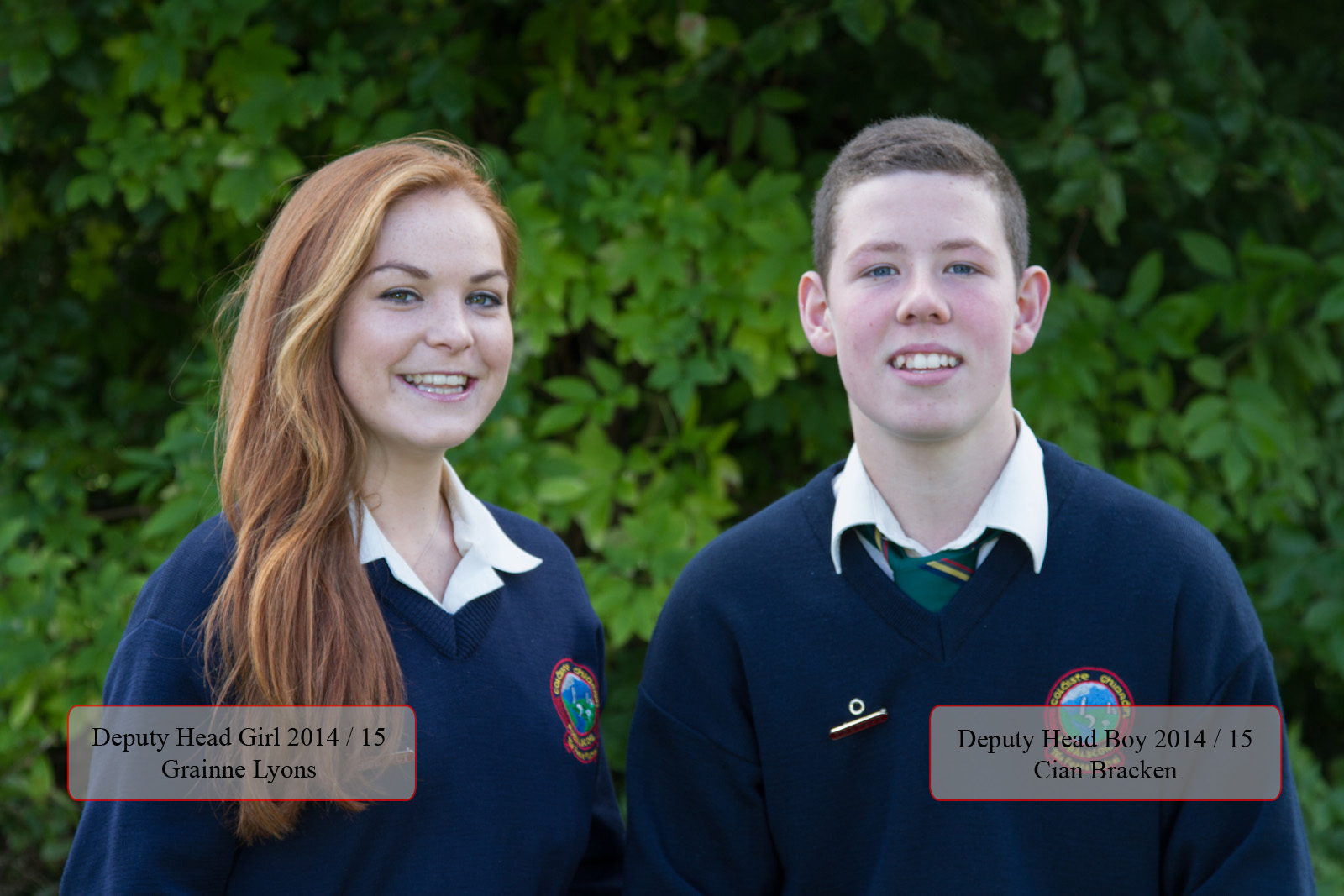 deputy head boy and head girl
