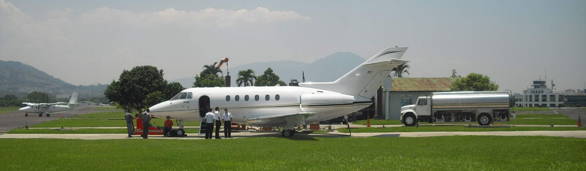 Central America FBO Jet Plane Airliner