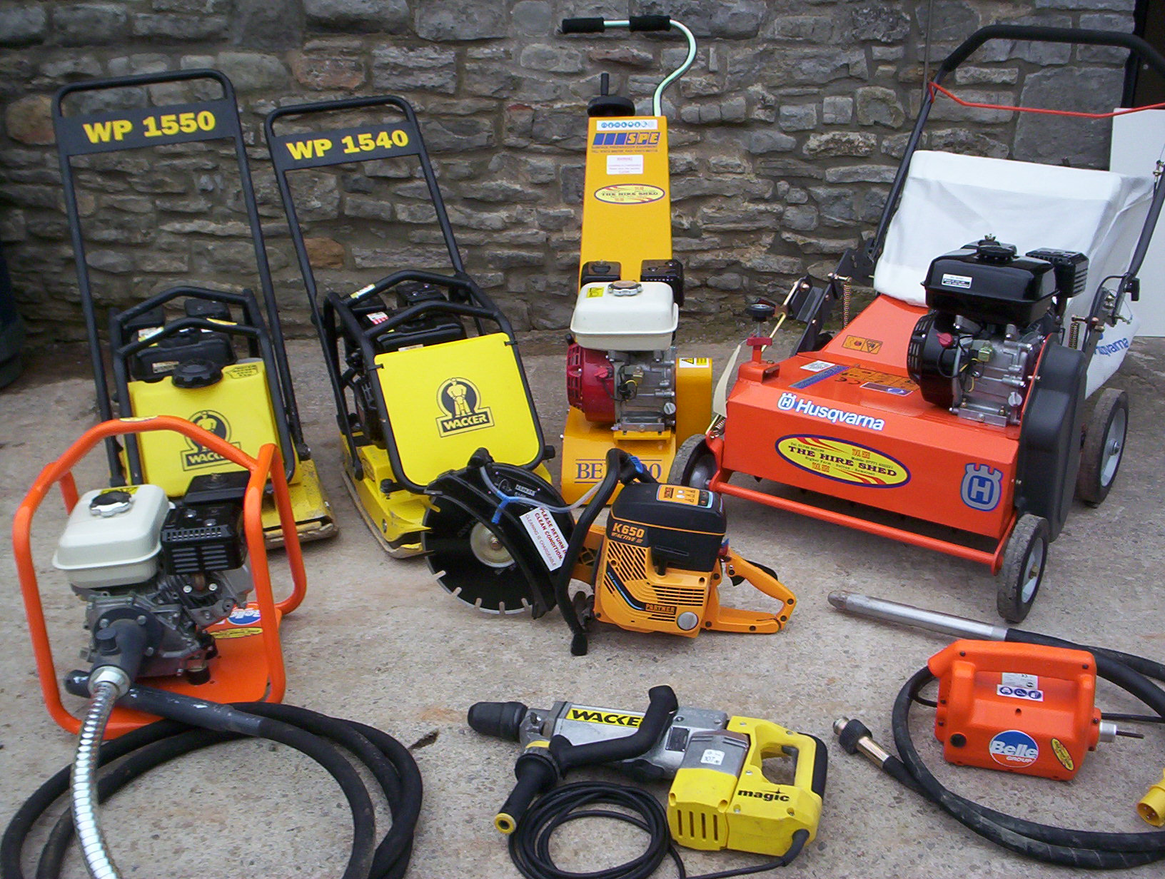 Small portion of our collection of tools/machines image