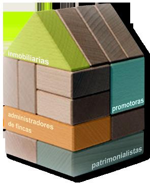 especializados en el sector inmobiliario (administradores de fincas, patrimonialistas, promotoras, inmobilitarias, etc.)