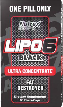 Sallutar Suplementos Lipo 6 Black 60 caps NUTREX