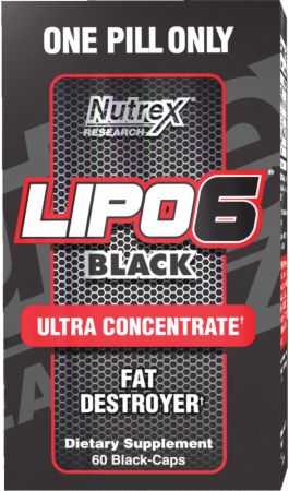 Sallutar SóBH Lipo 6 Black 60 caps Ultra Concentrate
