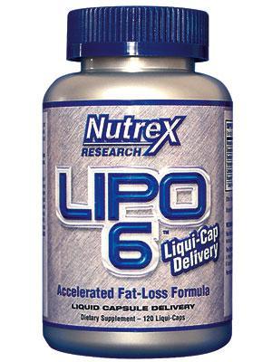 Sallutar Suplementos Lipo 6 120 caps NUTREX