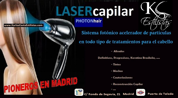 Lasercapilar Photonhair en Madrid