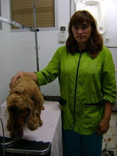 Conchi Salgado Peluquerias perros Madrid