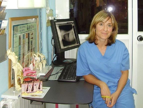 Mariluz Gozalbes Doctora Veterinaria en Madrid