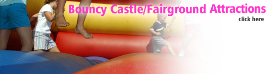 bouncy castles fairground atractions