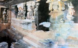 Cave Temple - India