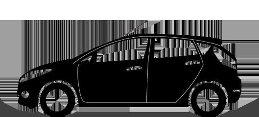 David Backham Driving Instructor Car Logo