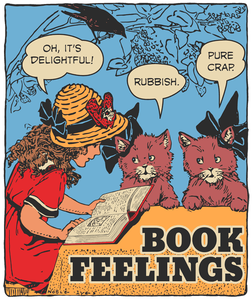 art for Book Feelings podcast