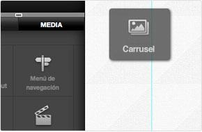 Crea una página web mediante el sistema arrastrar y soltar
