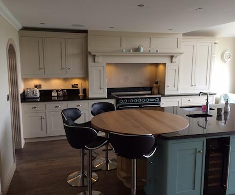 Handmade Handpainted Kitchen Blunham Beds