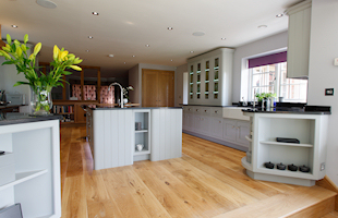 Hand Painted Kitchen Bedfordshire