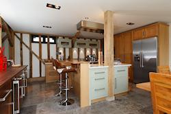 Handmade Kitchen Oak Cornice
