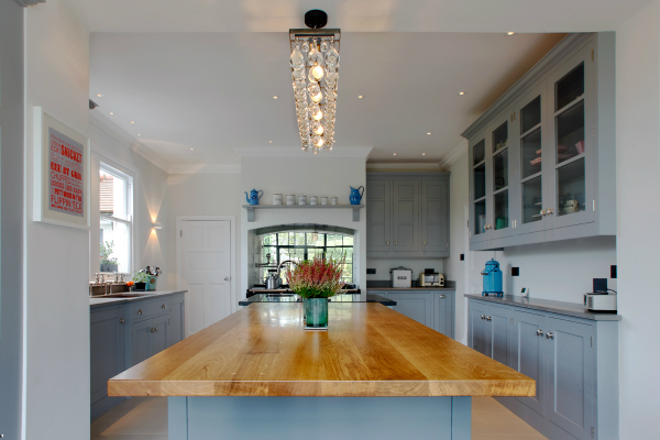 Handmade Painted Kitchen Harpenden