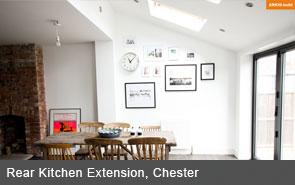 arkhibuild kitchen extension chester