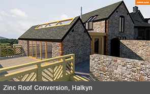 Zinc Roof Conversion, Halkyn