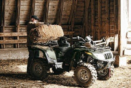 Arctic Cat Diesel quad bike