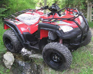Eliminator Electric Quad bike