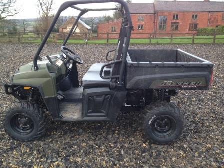 Used Polaris Ranger diesel