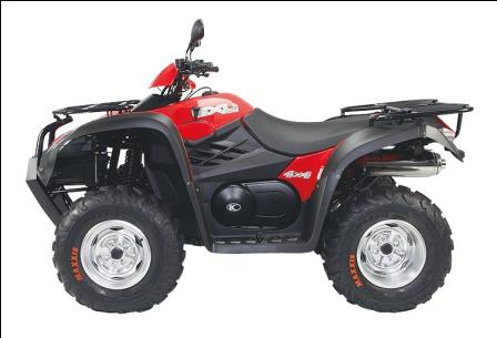 Kymco Mxu 500i Farm Quad Bike