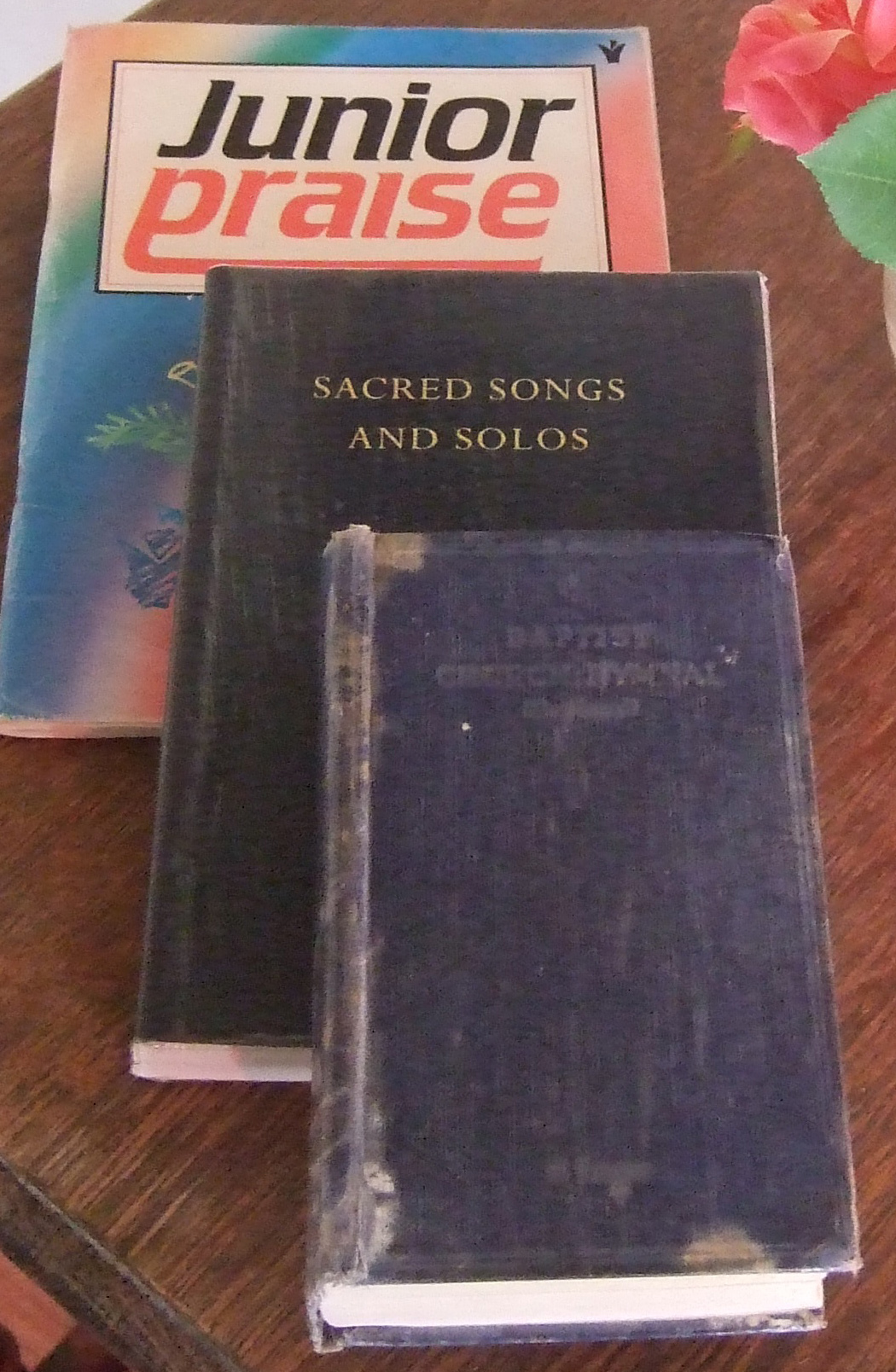Three favourite hymn books