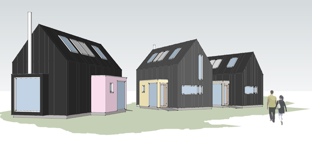 Beech Architects Suffolk Eco Start new homes