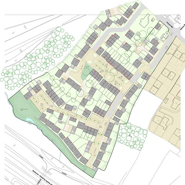 Housing development Kimberley nottingham