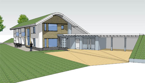 Eco House Ringsfield Suffolk