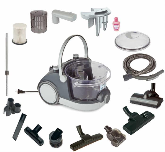 arnica bora 5000 water filter vacuum cleaner
