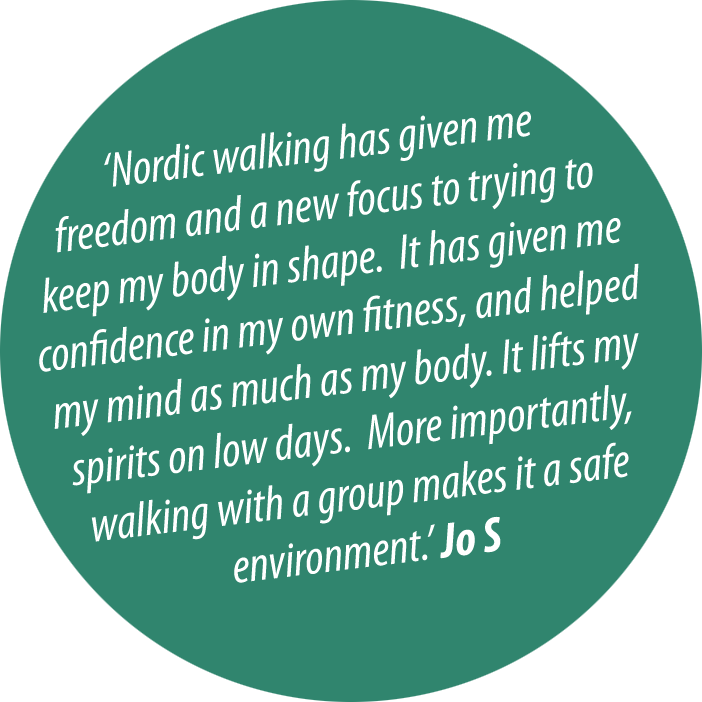 Nordic Walk it for Fun, Fitness and Wellbeing