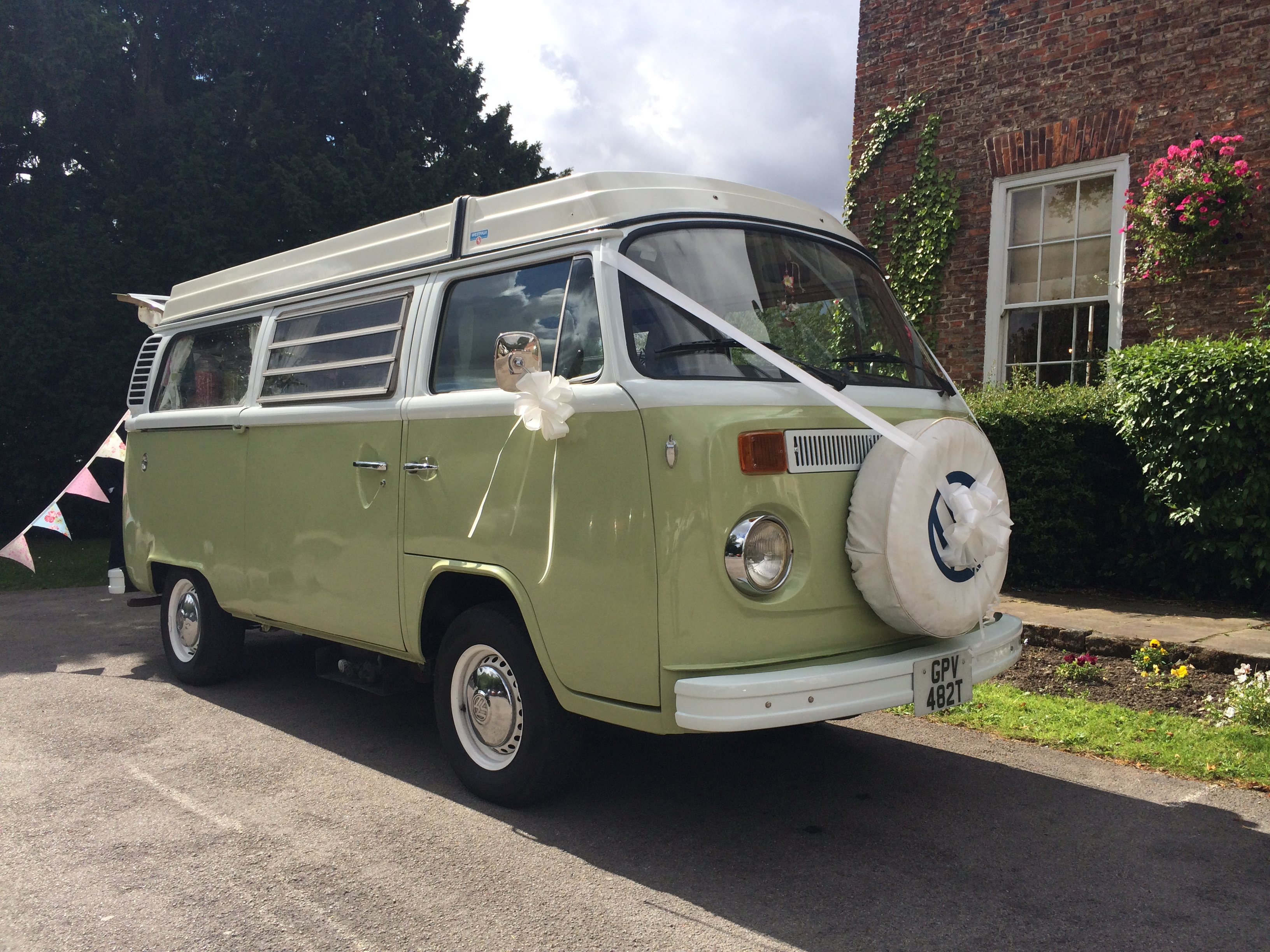 vw camper based in Darlington
