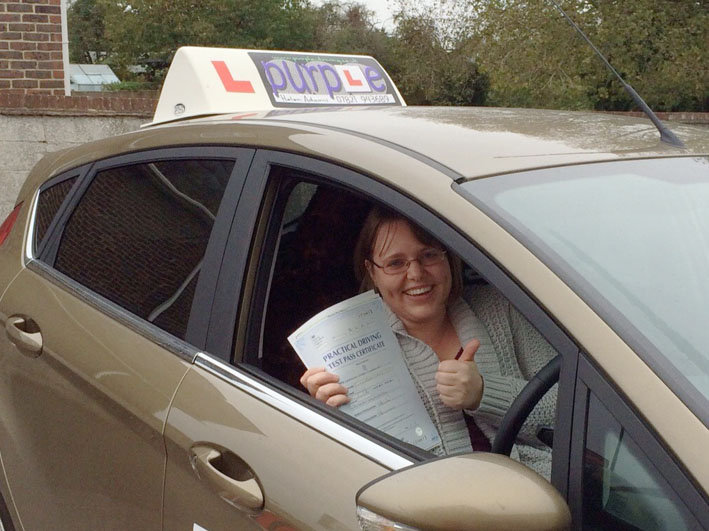 Helen won't just teach you to pass your test, she will teach you how to be a good, safe and independent driver, and don't be surprised if she knows what you're thinking before you do!