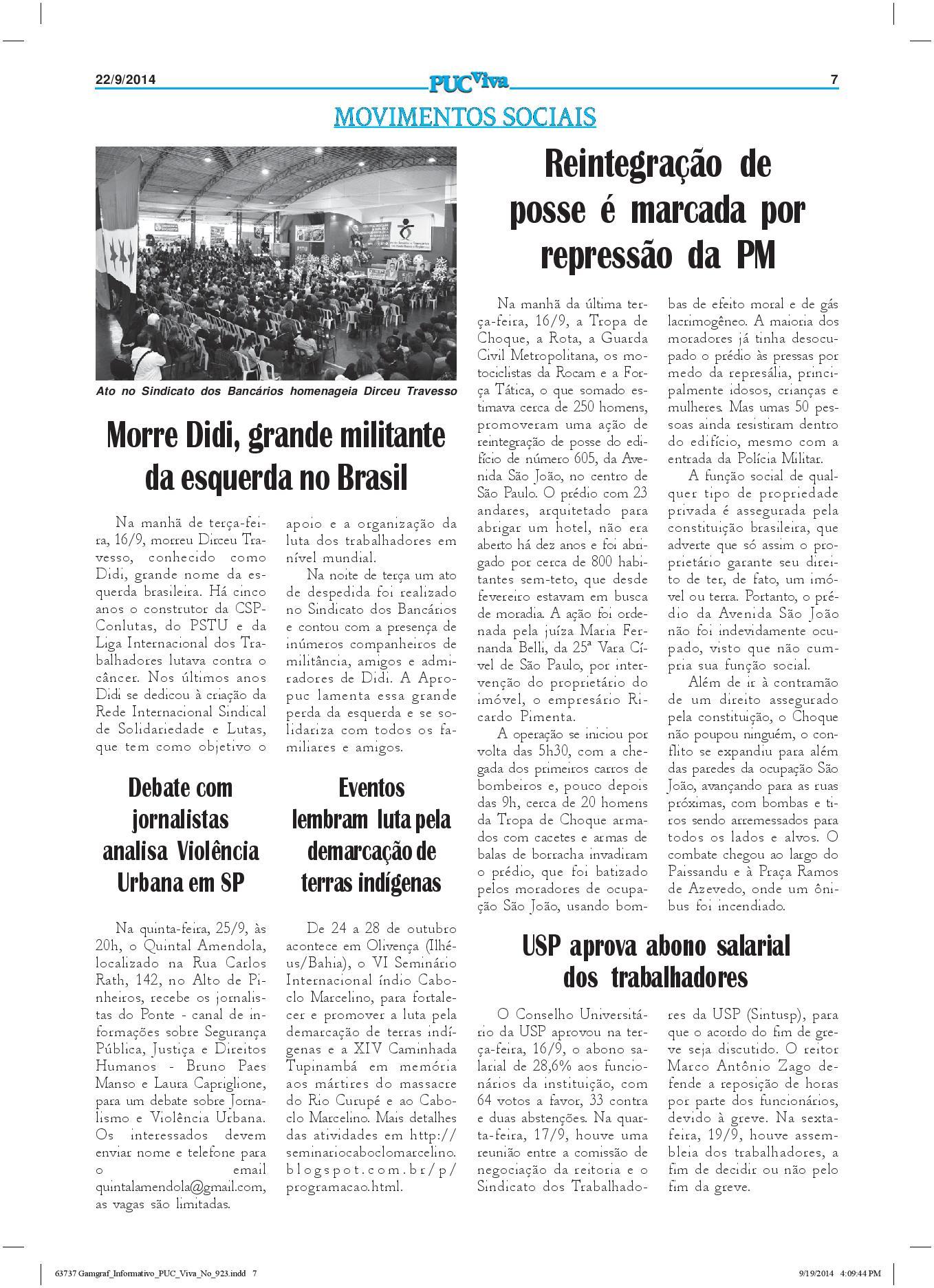 Movimentos Sociais a33ad68342